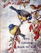 Cover-Bild zu Maxim, Magnificent: Bird Coloring Book for Kids: Bird coloring Book For Toddlers Nature Coloring Pages of Birds For Kids Coloring Books For Preschoolers Boys & Girls a