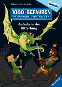 """Cover-Bild zu Lenk, Fabian: 1000 Gefahren junior - Aufruhr in der Ritterburg (Erstlesebuch mit """"Entscheide selbst""""-Prinzip für Kinder ab 7 Jahren)"""