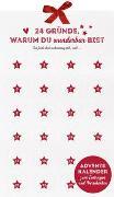 Cover-Bild zu 24 Gründe, warum du wunderbar bist - Adventskalender zum Eintragen und Verschenken