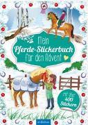 Cover-Bild zu Wagner, Maja (Illustr.): Mein Pferde-Stickerbuch für den Advent