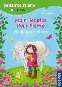 Cover-Bild zu Kessel, Carola von: Mein liebstes Pony Flocke, Bücherhelden, Rettung für Minka (eBook)