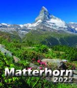 Cover-Bild zu Cal. Matterhorn 2022 Ft. 21x24