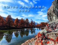 Cover-Bild zu Cal. Swiss Panorama 2022 Ft. 40x31
