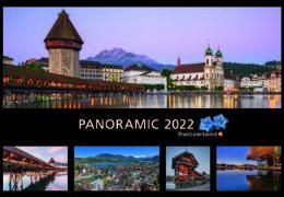 Cover-Bild zu Cal. Panoramic Switzerland 2022 Ft. 48x33