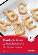 Cover-Bild zu Deutsch üben Alphabetisierung für Erwachsene. Buch mit MP3-Download von Waegele, Christian