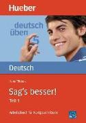 Cover-Bild zu Sag's besser 1. Grammatik von Földeak, Hans