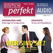 Cover-Bild zu Deutsch lernen Audio - Sich vorstellen (Audio Download) von Steinbach, Andrea