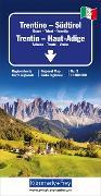 Cover-Bild zu Hallwag Kümmerly+Frey AG (Hrsg.): Trentino - Südtirol Regionalkarte Italien Nr. 3. 1:200'000