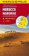 Cover-Bild zu MARCO POLO Länderkarte Marokko 1:800 000. 1:800'000