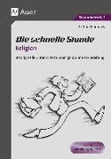 Cover-Bild zu Die schnelle Stunde Religion von Thömmes, Arthur