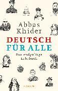 Cover-Bild zu Khider, Abbas: Deutsch für alle