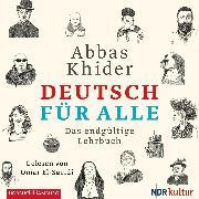 Cover-Bild zu Khider, Abbas: Deutsch für alle (Audio Download)