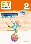 Cover-Bild zu Reichert, Sonja: Fit für die Schule: Das musst du wissen! Deutsch 2. Klasse