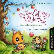 Cover-Bild zu Amft, Diana: Die kleine Spinne Widerlich - Der Geburtstagsbesuch & Das Geschwisterchen (Audio Download)