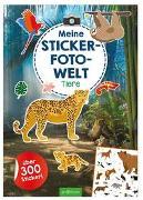 Cover-Bild zu Bellermann, Lena (Illustr.): Meine Sticker-Foto-Welt - Tiere