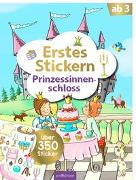 Cover-Bild zu Theissen, Petra (Illustr.): Erstes Stickern Prinzessinnenschloss