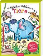 Cover-Bild zu Wade, Sarah (Illustr.): Magischer Malzauber Tiere