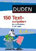 Cover-Bild zu 150 Textaufgaben 2. bis 4. Klasse (eBook) von Dudenredaktion, Steffen