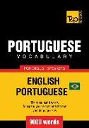 Cover-Bild zu Brazilian Portuguese vocabulary for English speakers - 9000 words (eBook) von Taranov, Andrey