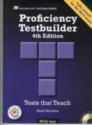 Cover-Bild zu Proficiency Testbuilder 2013 Student's Book with key & MPO Pack