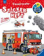 Cover-Bild zu Böwer, Niklas (Illustr.): Wieso? Weshalb? Warum? Stickerheft: Feuerwehr