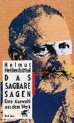 Cover-Bild zu Heissenbüttel, Helmut: Das Sagbare sagen