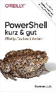 Cover-Bild zu Butz, Thorsten: PowerShell - kurz & gut (eBook)