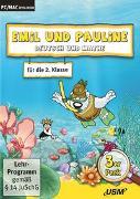 Cover-Bild zu Emil und Pauline 3 in 1 Bundle - Deutsch und Mathe für die 2. Klasse von Bartl, Almuth