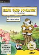 Cover-Bild zu Emil und Pauline 3 in 1 Bundle - Lernspiele für die Vorschule von Bartl, Almuth