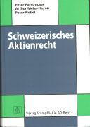 Cover-Bild zu Forstmoser, Peter: Schweizerisches Aktienrecht