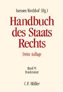 Cover-Bild zu Anderheiden, Michael: Handbuch des Staatsrechts