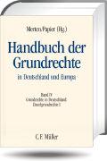 Cover-Bild zu Burgi, Martin: Handbuch der Grundrechte in Deutschland und Europa