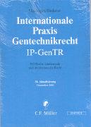 Cover-Bild zu 38. Aktualisierung - Internationales Biotechnologierecht