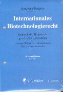 Cover-Bild zu 41. Aktualisierung - Internationales Biotechnologierecht