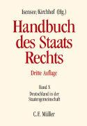 Cover-Bild zu Badura, Peter: Handbuch des Staatsrechts