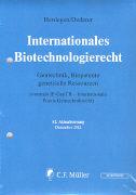 Cover-Bild zu 42. Aktualisierung - Internationales Biotechnologierecht