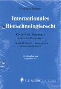 Cover-Bild zu 43. Aktualisierung - Internationales Biotechnologierecht