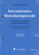 Cover-Bild zu 44. Aktualisierung - Internationales Biotechnologierecht