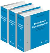 Cover-Bild zu Herdegen, Matthias (Hrsg.): Internationales Biotechnologierecht - Internationales Biotechnologierecht