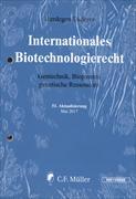 Cover-Bild zu 51. Aktualisierung - Internationales Biotechnologierecht