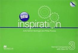Cover-Bild zu Garton-Sprenger, Judy: New Inspiration 3. German Companion