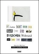 Cover-Bild zu Müller, Herta (Geschaffen): Herta Müller: Collagen 2022 - Literaturnobelpreisträgerin - Poster-Kalender - Format 50 x 70 cm