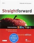 Cover-Bild zu Kerr, Philip: Straightforward 2nd Edition Intermediate + eBook Student's Pack