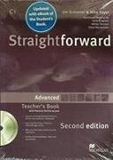 Cover-Bild zu Kerr, Philip: Straightforward 2nd Edition Advanced + eBook Teacher's Pack