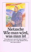 Cover-Bild zu Nietzsche, Friedrich: Wie man wird, was man ist