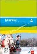 Cover-Bild zu Konetschno!. Band 4. Russisch als 2. Fremdsprache. Arbeitsheft mit Audio-CD und Lernsoftware zum Download