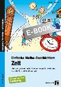 Cover-Bild zu Einfache Mathe-Geschichten: Zeit (eBook) von Rosenkranz, Claudia
