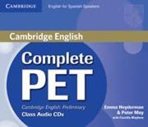 Cover-Bild zu Complete PET for Spanish Speakers. Class Audio CDs von Heyderman, Emma