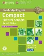 Cover-Bild zu Compact First for Schools - Second edition. Workbook with answers with downloadable audio von Matthews, Laura