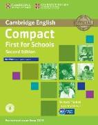 Cover-Bild zu Compact First for Schools. Workbook without Answers von Thomas, Barbara